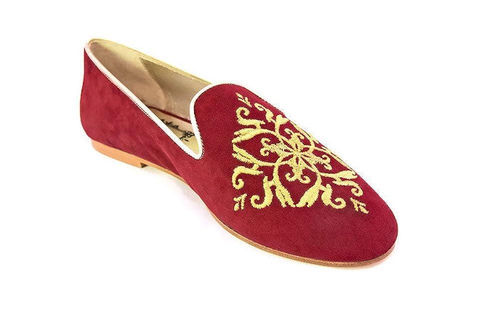 Viorica Viorica Viorica del Prado Damen Ballerinas Granatrot a2c174