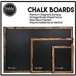Loddie-Doddie-Magnetic-Chalkboard-24-x-36-Magnetic-Large-Chalkboard-for-Wall-Decor-Easy-to-Erase-Chalkboard-Rustic-Frame-for-Kitchen-Big-Framed-Magnet-Blackboard-Hanging-Black-Chalkboards