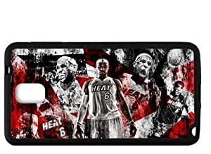 Morimo Custom Protective Phone Case for SamSung Galaxy Note 3,Basketball Superstar Lebron James Laster Technology Nice Quality Plastic and TPU Cover