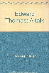 Edward Thomas: A talk