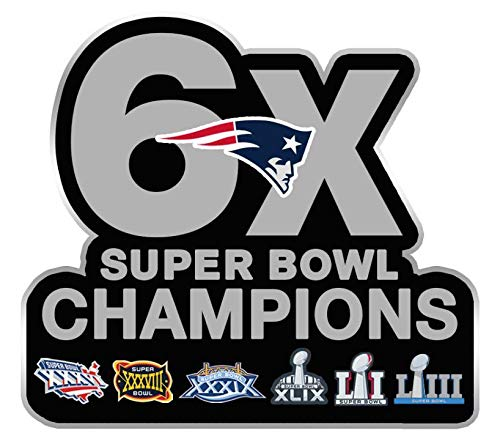 - Football 2019 Super Bowl 53 Patriots 6X Champions PIN Superbowl LIII