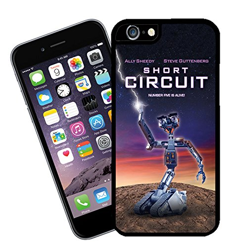 Short Circuit, movie phone case - This cover will fit Apple model iPhone 6s (not 6 plus) - By Eclipse Gift Ideas