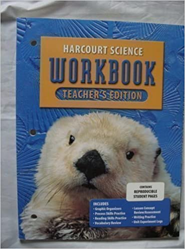 Amazon.com: Harcourt Science Workbook: Grade 1, Teacher's Edition ...