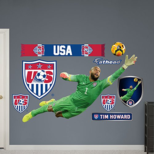 World Cup Soccer United States Tim Howard Fathead Wall Decal, Real Big by FATHEAD