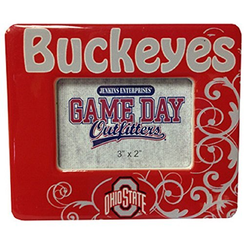Game Day Outfitters NCAA Ohio State Buckeyes Mini Frame, One Size, - Supplies Ohio State Office