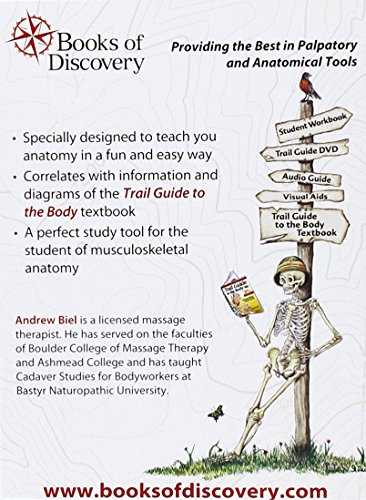 Trail Guide to the Body Flashcards Vol. 1: Skeletal System, - Import ...