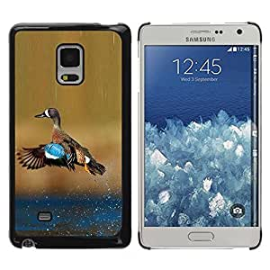LASTONE PHONE CASE / Slim Protector Hard Shell Cover Case for Samsung Galaxy Mega 5.8 9150 9152 / Green Blue Water Ornithology