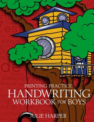 - Printing Practice Handwriting Workbook for Boys