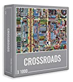 Cloudberries Crossroads – Beautiful, Challenging Street Map Puzzle for Adults (1000 Pieces)
