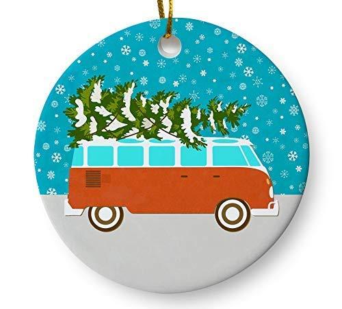 volkswagen camper van ornament - 2