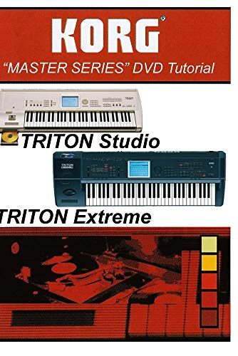 Korg Triton Studio / Extreme (Vol II) DVD Video Training Tutorial Help