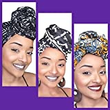 Hasini Empress African Headwrap Collection ( 3 headwraps)