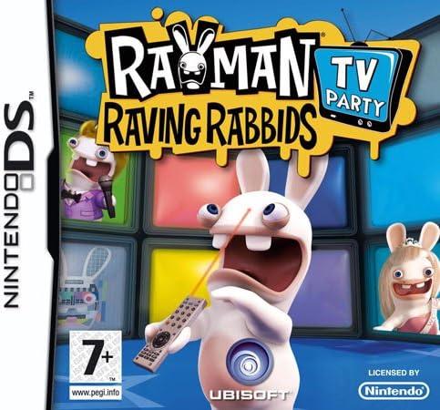 Rayman Raving Rabbids TV Party [Importación italiana]: Amazon.es: Videojuegos