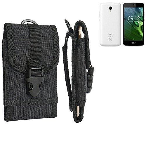 bolsa del cinturón / funda para ACER Liquid Zest 4G, negro | caja del teléfono cubierta protectora bolso - K-S-Trade (TM)