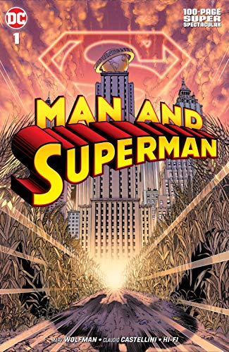Pdf Graphic Novels Man and Superman 100-Page Super Spectacular (2019) #1 (Superman: Confidential)
