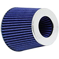$28 » K&N Universal Clamp-On Engine Air Filter: Washable: Round Tapered; 3 in/3.5 in/4 in (102…