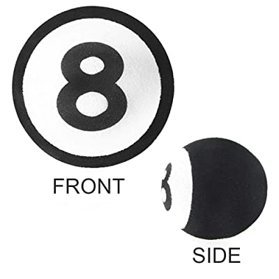 ygmoner Antenna Ball/Cute Antenna Topper/Car Foam Balls (8 Ball): Automotive [5Bkhe0116735]