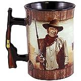 John Wayne 16oz Mug with Rifle Handle -