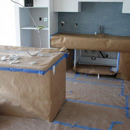 Floor Protection Rosin Paper Floor Protection Floor: Plasticover Reinforced Kraft Floor Protection Paper