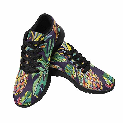 InterestPrint Womens Jogging Running Sneaker Lightweight Go Easy Walking Comfort Sports Running Shoes colorful Tropical Pattern Multi 1 p9TIUmLVd