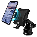 Binlefois Fast Wireless Car Charger,Fully Automatic Induction Car Mount Air Vent Holder for Samsung Galaxy S9/S9 Plus S8 S7/S7 Edge Note 8/5 iPhone X 8/8 Plus & Other Qi Enabled Devices