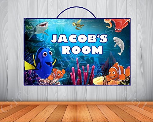 Finding Nemo Room Decor.Amazon Com Personalized Finding Dory Sign Finding Dory