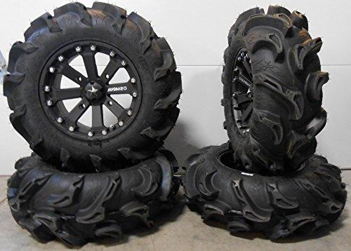 Black Atv Wheel - 7