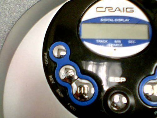 Craig Electronics International Ltd. Craig 60-SEC Anti-Skip Personal CD Player Model No: CD2863 (Craig CD Player #CD2863) by Craig Electronics International Ltd. Craig (Image #2)