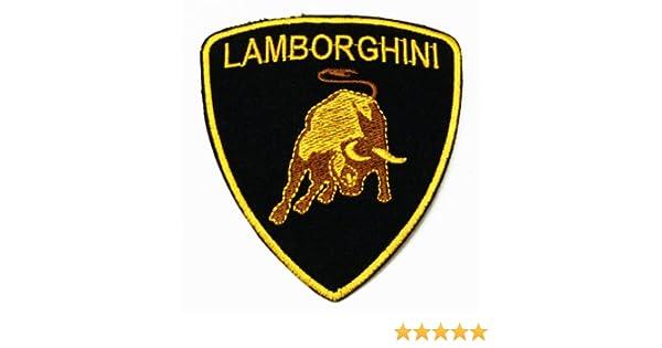 Amazon Lamborghini Embroidered Iron On Sew On Patch Iron On