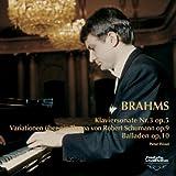 ブラームス:ピアノ独奏曲全集II