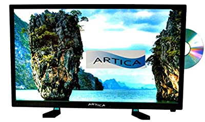 Artica AR2418 24-Inch HD LED TV with DVD Combo (Black)