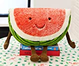 Lopkey Creative Fruit Plush Pillow Kids Gift Watermelon Stuffed Plush Toys 4040CM