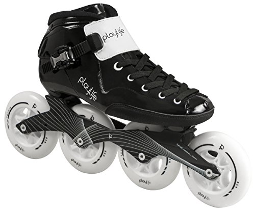 Playlife Youth Powerslide Performance Inline Speed Skates – Glass-Fiber Heat Moldable