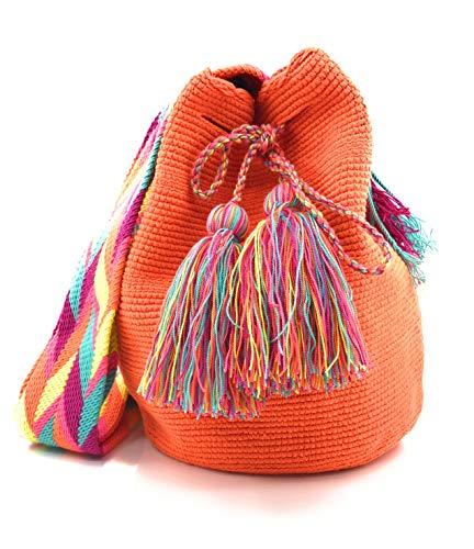 femmes et les colombiens dos à à la Wayuu à Sacs pour Ángeles Handmade Sac fois COLOMBIAN Los les STYLE main hommes qwgaZn4