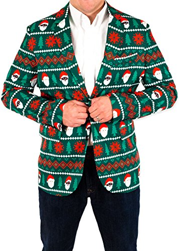Santa Equality Christmas Suit Coat