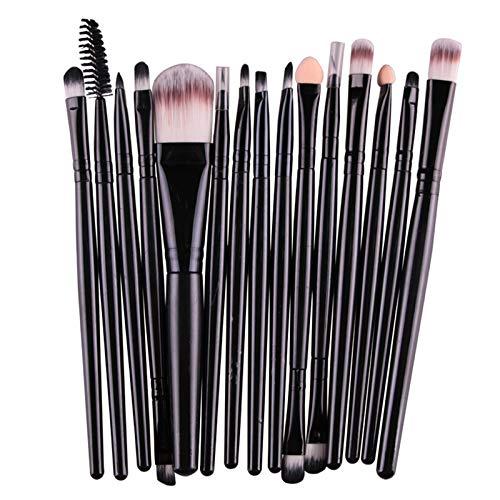 Icycheer Pro 15–18PCS makeup brushes set ombretto fondazione cipria eyeliner ciglia e labbra pennello cosmetici beauty Tool kit