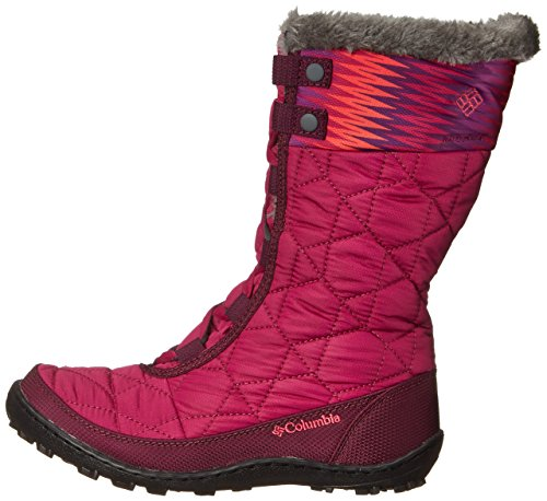 888664561286 - Columbia Youth Minx Mid WP OH Winter Boot (Little Kid/Big Kid), Deep Blush/Tropic Pink, 4 M US Big Kid carousel main 4