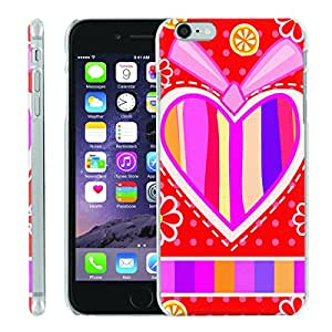 [ManiaGear] [SLIGHT] Thin Clip On Image Shell Cover Hard Case (My Hearts) for Iphone 6 (4.7)
