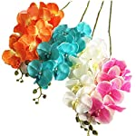 jiumengya-5pcs-Orange-Color-Moth-Orchids-Phalaenopsis-Orchid-Orchid-8-HeadsPiece-for-Wedding-Decorative-Artificial-Flowers-Orange