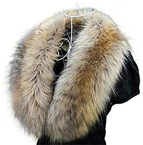 Faux Fur Collar Scarf Hood Collar Shawl Stole Neck, used for sale  Delivered anywhere in USA
