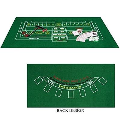 Blackjack/Craps Motif jeu de Casino