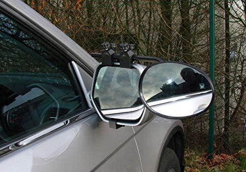 flach Glas BITS4REASONS Maypole MP8328 Deluxe-Verl/ängerungsspiegel f/ür Wohnwagen Neues Klemmsystem Einzelspiegel
