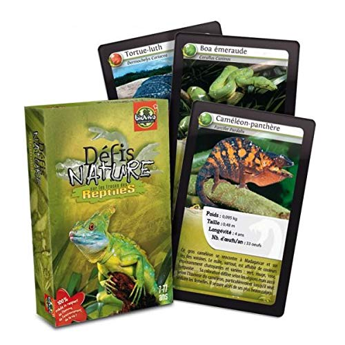 Bioviva - 0101003108 - Board Game - Challenges Within Nature - Reptiles [French Language]