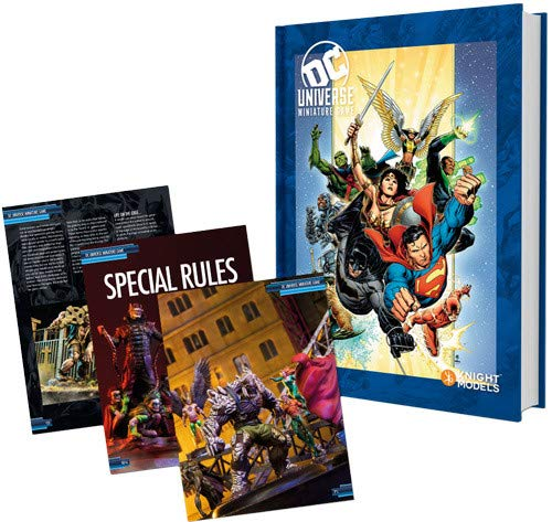 DC Universe Miniatures Game Rulebook: Heroes Cover