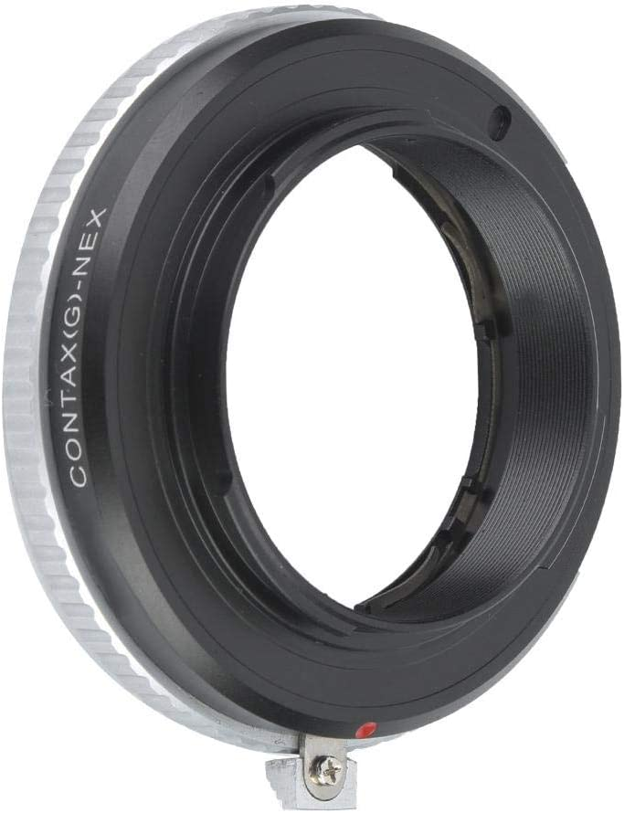 Metal Lens Mount Adapter for Contax G Lens Compatible with Sony NEX a72 A7R2 a7s2 Camera Pomya Camera Lens Adapter Ring