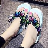 Womens Wedges Flip Flops Sandals, Summer Boho