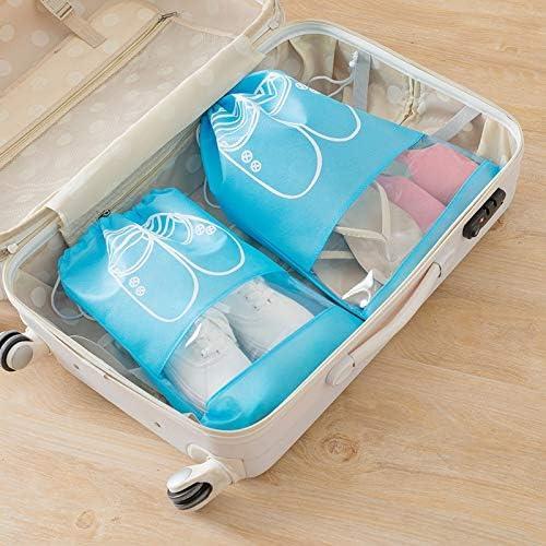 Dust-proof  Shoes Storage Bag Pouch Travel Organizer Drawstring Bag
