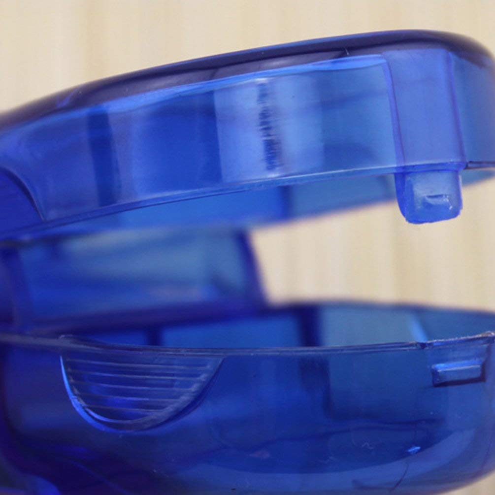 Blu Oyamihin Contenitore di stoccaggio della Capsula della Pillola della Medicina della Medicina della Scatola della Pillola della Medicina del Taglio Rettangolare