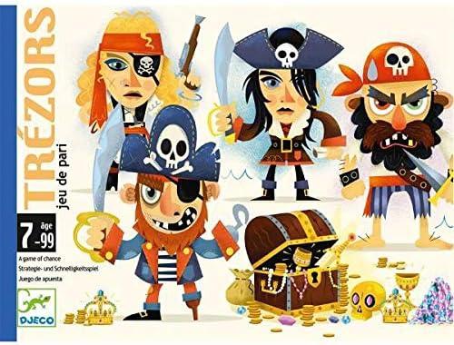 DJECO- Juegos de cartasJuegos de cartasDJECOCartas Trézors, Multicolor (36): Amazon.es: Juguetes y juegos