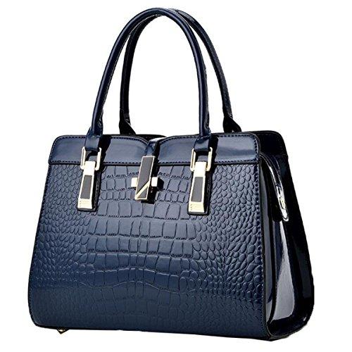 Sac Bag Main Lady L'épaule Moyen Age WU à ZHI Du Blue à O6txqwW0n5